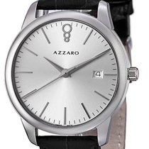 Azzaro Steel Quartz AZ2040.12SB.000 new