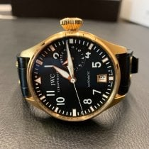 IWC Rose gold Automatic 47mm pre-owned Big Pilot