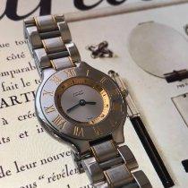 Cartier 21 Must de Cartier Steel 28mm Silver Roman numerals United States of America, California, Watsonville