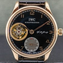 IWC Portuguese Tourbillon Rose gold 43mm Arabic numerals United States of America, Massachusetts, Boston