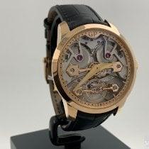 Girard Perregaux Bridges Rose gold 40mm Transparent No numerals