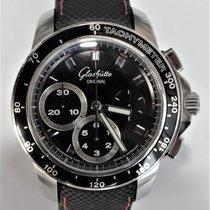 Glashütte Original Sport Evolution Chronograph Steel 42mm Black Arabic numerals