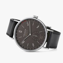 NOMOS Tangente Neomatik Steel 40.5mm Grey Arabic numerals United States of America, New Jersey, Princeton