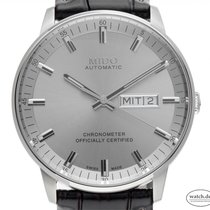 Mido Steel 40mm Automatic M021.431.16.071.00 new