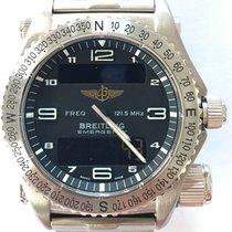 Breitling Emergency new 2001 Quartz Watch with original box and original papers E56321