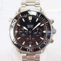 Omega Seamaster Diver 300 M Acier 41.5mm Noir Sans chiffres