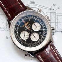 Breitling Navitimer 01 (46 MM) Steel 46mm Black No numerals United States of America, Virginia, Sterling