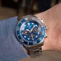 Seiko Prospex Stahl 43.5mm Blau Keine Ziffern