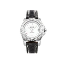 Breitling Colt 36 Steel 36mm White Arabic numerals