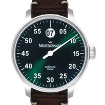 Meistersinger Steel 43mm Automatic SAM909 new United States of America, New Jersey, Cresskill