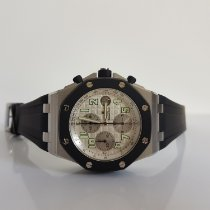 Audemars Piguet Royal Oak Offshore Chronograph Acier 42mm Blanc Arabes France, Thonon les bains