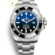 Rolex Sea-Dweller Deepsea Ατσάλι 44mm Μπλέ Xωρίς ψηφία
