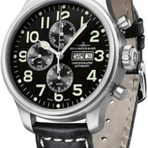 Zeno-Watch Basel Aço 47,5mm Automático 8557TVDD-a1 novo
