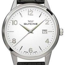 Glycine Aluminum Quartz White 42mm new Classics