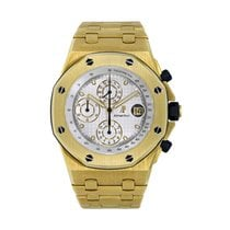 Audemars Piguet Royal Oak Offshore Chronograph Yellow gold 42mm White No numerals United States of America, New York, New York