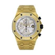 Audemars Piguet Royal Oak Offshore Chronograph Yellow gold 42mm White No numerals