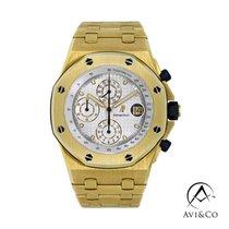 Audemars Piguet Royal Oak Offshore Chronograph 25721BA.OO.1000BA.03 Πολύ καλό Κίτρινο χρυσό 42mm Αυτόματη