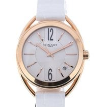 Chaumet Liens 33 Automatic White Leather
