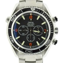 Omega Seamaster Planet Ocean XL Chronograph Stainless Steel