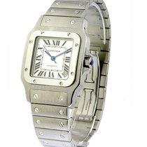 Cartier W20098D6 Santos XL Size 32mm in Steel - on Steel...
