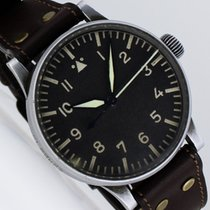Stowa B-Uhr der Deutschen Luftwaffe WW II Flieger Pilot 55mm