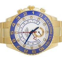 Rolex Mens Rolex 18K Yellow Gold 116688 Yacht Master II 44 MM...
