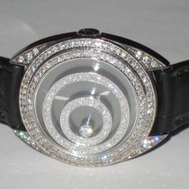 Chopard Happy Spirit Witgoud 41mm Wit Geen cijfers