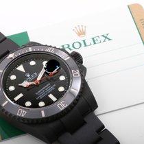 """勞力士 (Rolex) Matte PVD/DLC Ceramic Submariner """"Red Seconds..."""