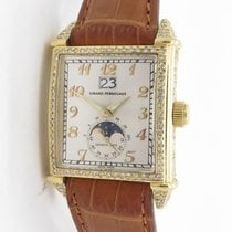 Girard Perregaux Grande Date Moonphase 2580 Automatic 18k Yg &...