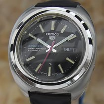Seiko 5 Sports Automatic 7019-7050 Day Date Vintage Rare 39mm...