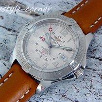 Breitling Automatik Chronometer Colt GMT A32350 (Box & Papiere...