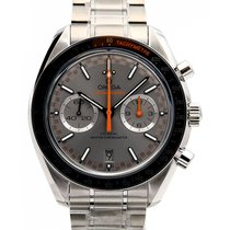 Omega Speedmaster Racing Acero 44.2mm Gris