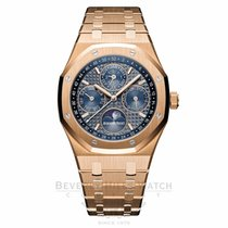 Audemars Piguet Royal Oak 41mm Perpetual Calendar Blue Dial...
