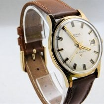 Benrus Sea Lord Vintage Automatic Date Gold Plate Pre-owned...