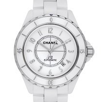 Chanel pre-owned 42mm White