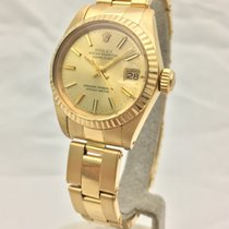 Rolex Yellow gold Automatic No numerals 26mm new Lady-Datejust