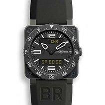 Bell & Ross Cronograf 42mm Cuart 2019 nou BR 03 (Submodel) Negru
