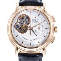 Zenith Rose gold Automatic Silver 40mm pre-owned