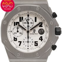Audemars Piguet Royal Oak Offshore Chronograph Acero 42mm Blanco Árabes España, Madrid