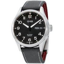 Oris Big Crown ProPilot Day Date Steel 45mm Black Arabic numerals United States of America, New York, Brooklyn