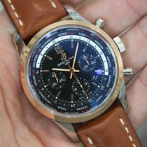 Breitling Transocean Chronograph Unitime Steel 46mm Black United States of America, California, Beverly Hills