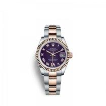 Rolex Lady-Datejust Gold/Steel 31mm Purple
