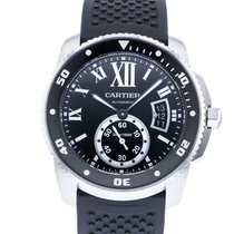 Cartier Calibre de Cartier Diver Steel 42mm Black United States of America, Georgia, Atlanta