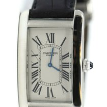 Cartier Tank Américaine Platinum 26.5mm Silver United States of America, New York, New York