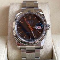 Rolex Datejust Turn-O-Graph Steel 36mm Blue