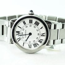 Cartier Steel 29mm pre-owned Ronde Solo de Cartier