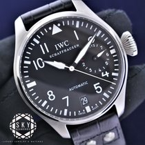 IWC Big Pilot Steel 46.2mm Black Arabic numerals