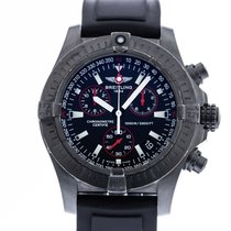 Breitling Avenger Seawolf pre-owned 45mm Black Date Rubber
