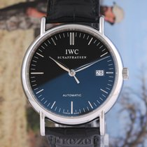 IWC Portofino Automatic Acero 39mm Negro Sin cifras