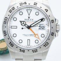 Rolex Explorer II 216570 2016 pre-owned